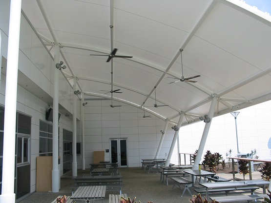 Cairns Airport Beer Garden Canopy